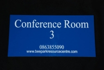 Room Numbers / Room Name Signs.
