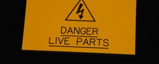 Danger Live Parts